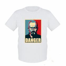 Детская футболка Heisenberg Danger