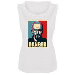 Женская майка Heisenberg Danger - FatLine