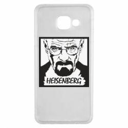 Чохол для Samsung A3 2016 Heisenberg face