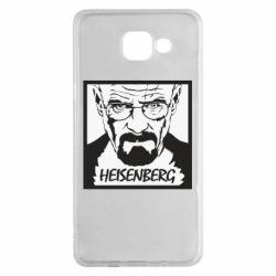 Чохол для Samsung A5 2016 Heisenberg face