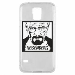 Чохол для Samsung S5 Heisenberg face