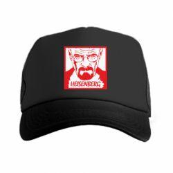 Кепка-тракер Heisenberg face