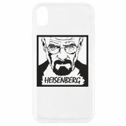 Чохол для iPhone XR Heisenberg face