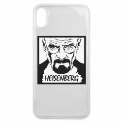 Чохол для iPhone Xs Max Heisenberg face