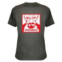 Камуфляжна футболка Heisenberg face