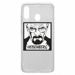 Чохол для Samsung A20 Heisenberg face