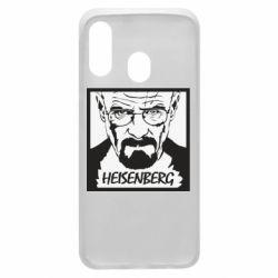Чохол для Samsung A40 Heisenberg face