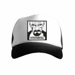 Дитяча кепка-тракер Heisenberg face