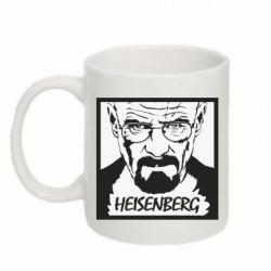 Кружка 320ml Heisenberg face