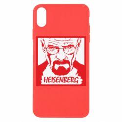 Чохол для iPhone X/Xs Heisenberg face