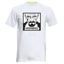 Чоловіча спортивна футболка Heisenberg face