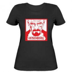 Жіноча футболка Heisenberg face