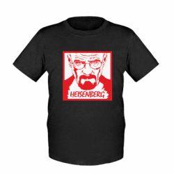 Дитяча футболка Heisenberg face