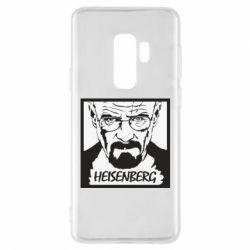Чохол для Samsung S9+ Heisenberg face