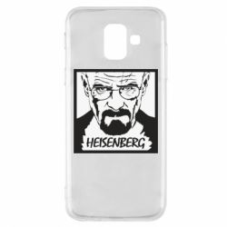 Чохол для Samsung A6 2018 Heisenberg face