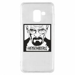 Чохол для Samsung A8 2018 Heisenberg face