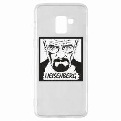 Чохол для Samsung A8+ 2018 Heisenberg face