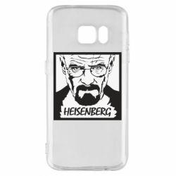 Чохол для Samsung S7 Heisenberg face