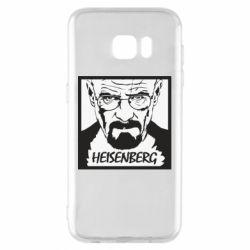 Чохол для Samsung S7 EDGE Heisenberg face