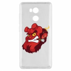 Чехол для Xiaomi Redmi 4 Pro/Prime Hellboy with a cigar - FatLine