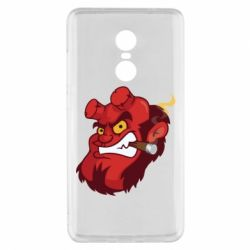 Чехол для Xiaomi Redmi Note 4x Hellboy with a cigar - FatLine