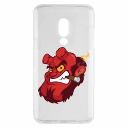 Чехол для Meizu 15 Hellboy with a cigar - FatLine