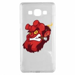 Чехол для Samsung A5 2015 Hellboy with a cigar - FatLine