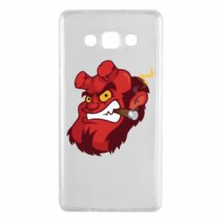 Чехол для Samsung A7 2015 Hellboy with a cigar - FatLine