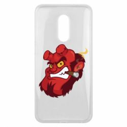 Чехол для Meizu 16 plus Hellboy with a cigar - FatLine