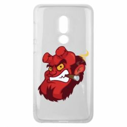 Чехол для Meizu V8 Hellboy with a cigar - FatLine
