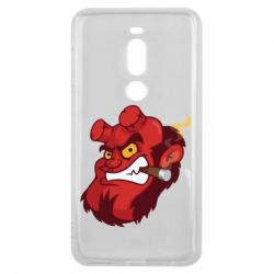 Чехол для Meizu V8 Pro Hellboy with a cigar - FatLine