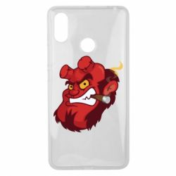 Чехол для Xiaomi Mi Max 3 Hellboy with a cigar - FatLine