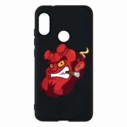 Чехол для Mi A2 Lite Hellboy with a cigar - FatLine