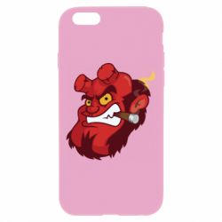 Чехол для iPhone 6 Plus/6S Plus Hellboy with a cigar - FatLine