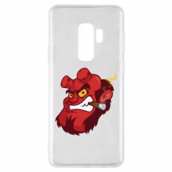 Чехол для Samsung S9+ Hellboy with a cigar - FatLine