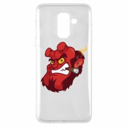 Чехол для Samsung A6+ 2018 Hellboy with a cigar - FatLine
