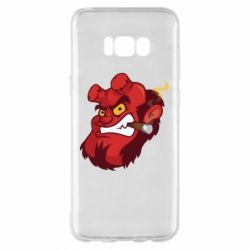 Чехол для Samsung S8+ Hellboy with a cigar - FatLine