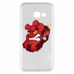 Чехол для Samsung A3 2017 Hellboy with a cigar - FatLine
