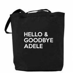Сумка Hello & Goodbye Adele