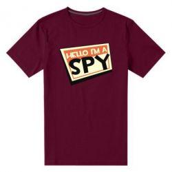 Чоловіча стрейчева футболка Hello i'm a spy