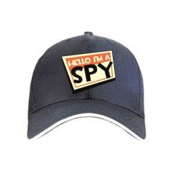 Кепка Hello i'm a spy
