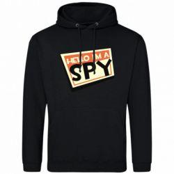 Чоловіча толстовка Hello i'm a spy