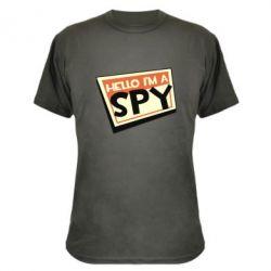 Камуфляжна футболка Hello i'm a spy
