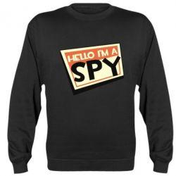 Реглан (світшот) Hello i'm a spy