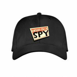 Детская кепка Hello i'm a spy
