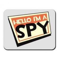 Килимок для миші Hello i'm a spy