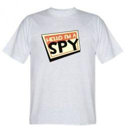 Чоловіча футболка Hello i'm a spy