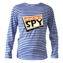 Тільник з довгим рукавом Hello i'm a spy