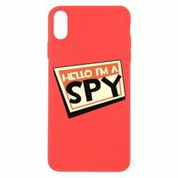 Чохол для iPhone X/Xs Hello i'm a spy