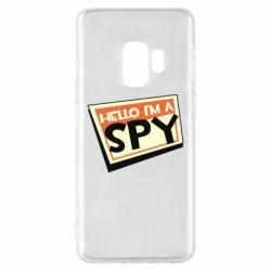 Чохол для Samsung S9 Hello i'm a spy